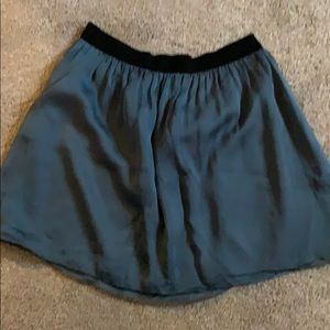 Anthropologie Skirts - Blue Silk Skirt